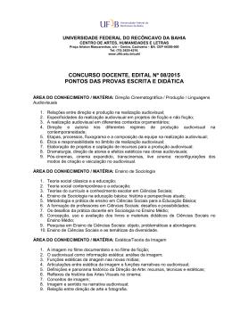 PONTOS CONCURSO - EDITAL Nº 08_2015