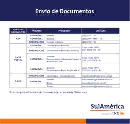Envio de Documentos