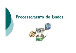 Processamento de Dados - Internet