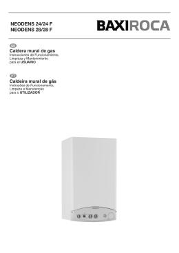 Cahier d installation chaudi re installation manual boiler for Caldera mural baxi luna 3 comfort