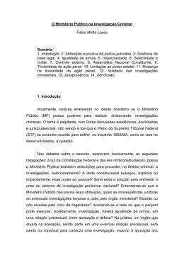 21-07-09-O Ministério Público na Investigação Criminal
