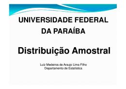 Aula 10 - DE/UFPB - Universidade Federal da Paraíba