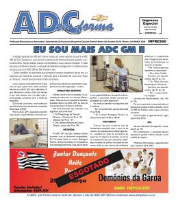 Março 2008 - ADCGM São Caetano do Sul