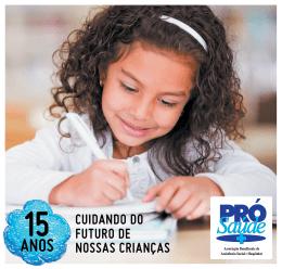 CUIDANDO DO FUTURO DE NOSSAS CRIANÇAS - Pró