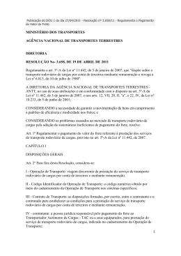 3.658, DE 19 DE ABRIL DE 2011