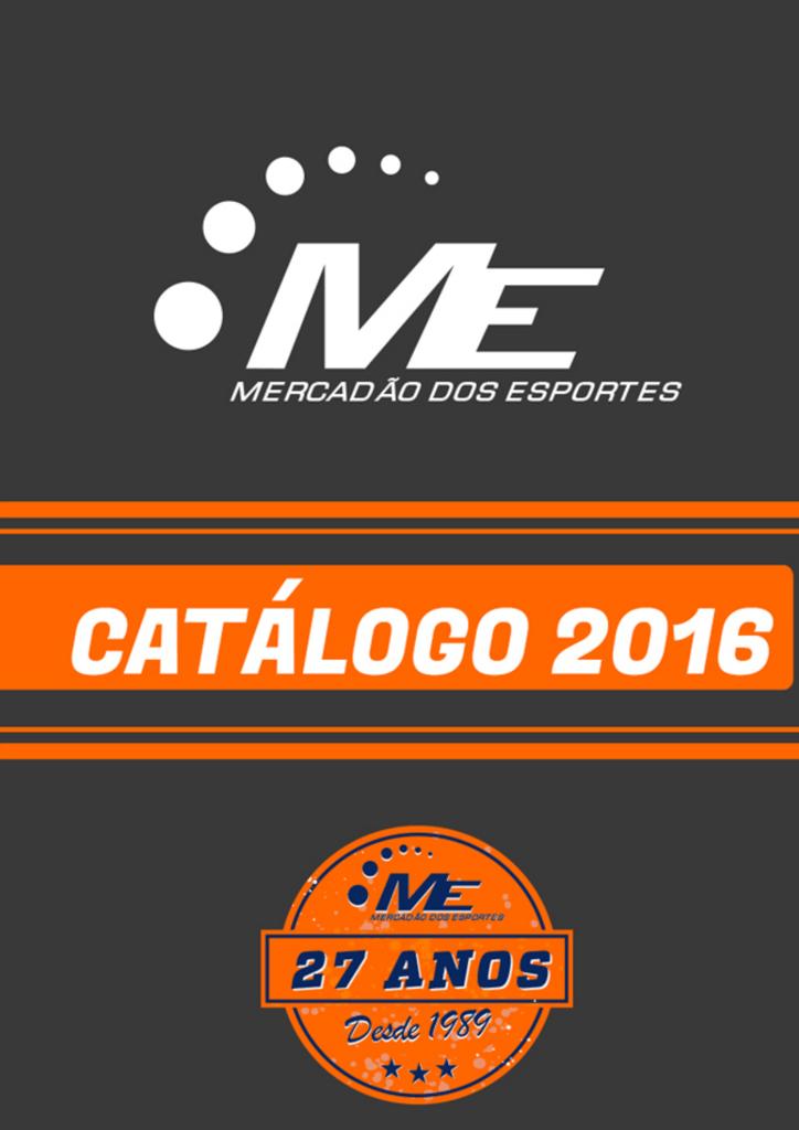 Baixe nosso Catálogo - Mercadão Dos Esportes d9d3b42ffc134