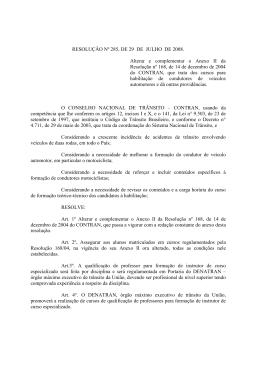 Resolução 285-2008