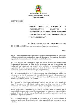 Estado do Rio de Janeiro Câmara Municipal de Cordeiro Poder