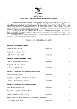 edital-06-2011-convocacao - Companhia de Saneamento de Alagoas