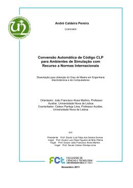 Conversão Automática de Código CLP para Ambientes de