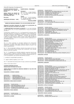 anexo único da ordem de serviço subser n.º 82,de