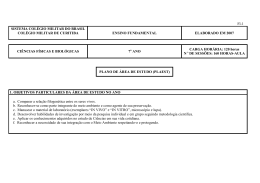Fl-1 SISTEMA COLÉGIO MILITAR DO BRASIL COLÉGIO MILITAR