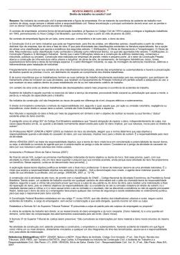 REVISTA ÂMBITO JURÍDICO ® Direito do trabalho na constru? civil