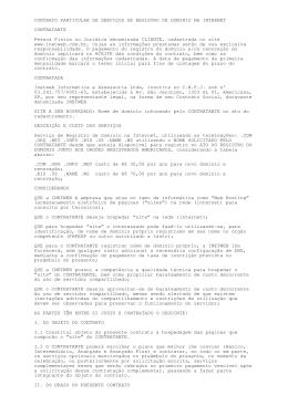 Contrato de Registro de Dominios