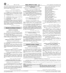 46 2 Ministério das Relações Exteriores Ministério de Minas