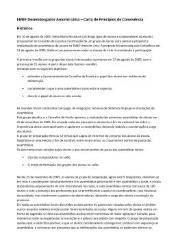 EMEF Desembargador Amorim Lima – Carta de