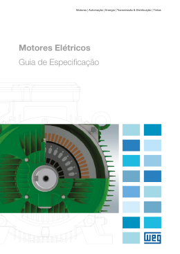 Motores Elétricos Guia de Especificação