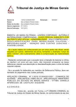 TJMG Apelação Criminal 10016100044300001