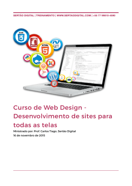 Treinamento - Web Design.pages