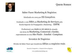 Apresentação Saber Fazer Marketing – pdf
