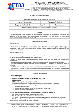 FACULDADE TRIÂNGULO MINEIRO