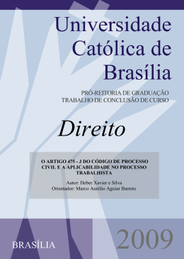 Heber Xavier e Silva - Universidade Católica de Brasília