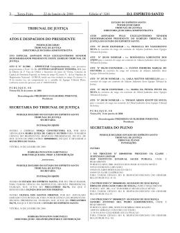 Word Pro - 22012008.lwp - Tribunal de Justiça do Espírito Santo