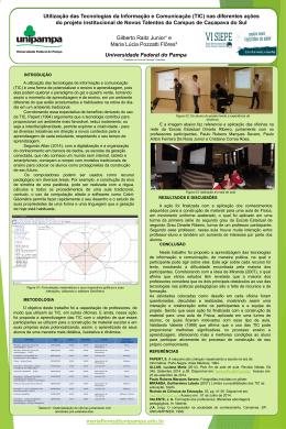 Utilização das Tecnologias da Informação e Comunicação (TIC) nas