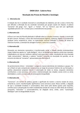 ENEM 2014 | Resolução das Provas de Filosofia e Sociologia