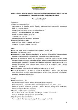 temas das provas 2013-2014(Para Aprovar)