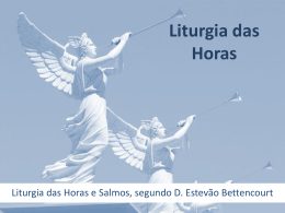 4. Liturgia das Horas