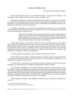 22 A Justiça e a Missão do Juiz Des. Hélio Armond Werneck Côrtes