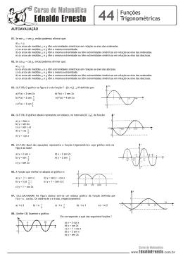01. (PUC-SP-84) Na figura abaixo, girando-se o