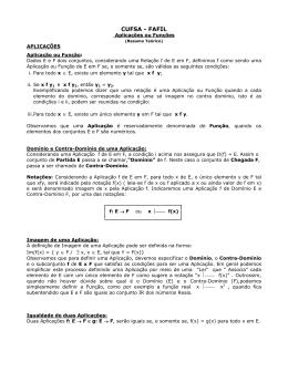 CM A Resumo Aplicacoes e Funcoes
