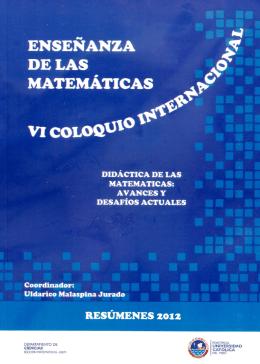 Didáctica de las Matemáticas: avances y desafíos actuales