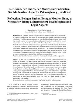 Aspectos Psicológicos y Jurídicos - Colegio Oficial de Psicólogos de