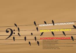 seminário internacional música, artes visuais e a - IReMus