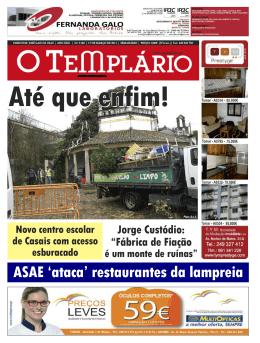 Em Tomar - Jornal O Templário