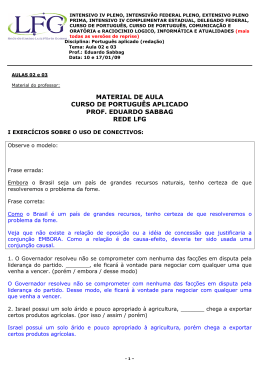 material de aula curso de português aplicado prof. eduardo sabbag