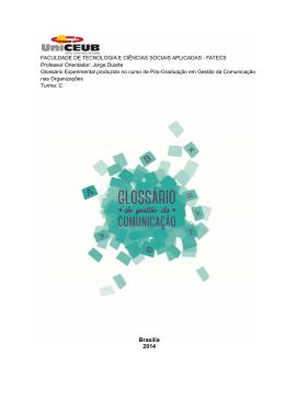 Glossário de Gestão da Comunicação 4