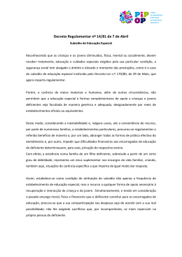 Decreto Regulamentar nº14/81