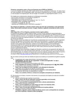 Primeiros comentários sobre a Prova de Espanhol para ATRFB de