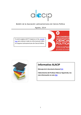Boletín agosto sept 2014