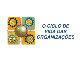O CICLO DE VIDA DAS ORGANIZAÇÕES