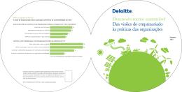 Desenvolvimento sustentável Das visões do empresariado às
