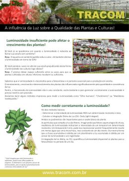 folheto_a influencia da luz sobre a qualidade das plantas