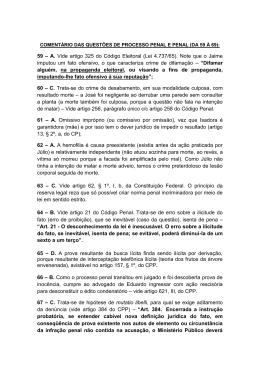 59 – A. Vide artigo 325 do Código Eleitoral (Lei 4.737/65). Note que