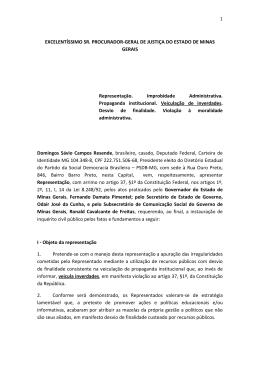 1 EXCELENTÍSSIMO SR. PROCURADOR-GERAL DE - PSDB