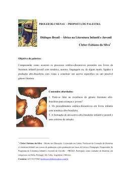 Dialogos Brasil – Africa na Literatura Infantil e Juvenil