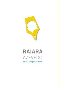 08/09/2015 RAIARA Azevedo – Turbulência